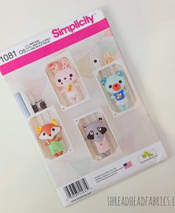 soft toys pattern by simplicity