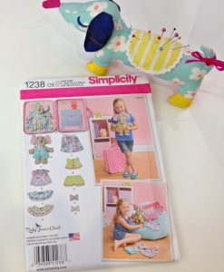 Simplicity 1238 Elephant Toy Sewing Pattern