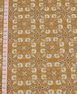 Detail Lightweight Jersey Floral Fabric