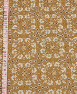 Detail Lightweight Jersey Floral Fabric