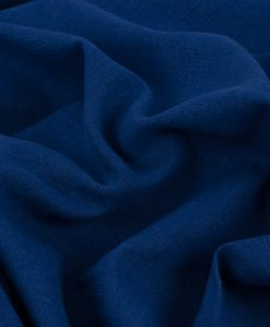 Lady McElroy Sapphire Blue Luxury Linen
