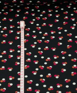 Spotted Ponte Roma Jersey Fabric