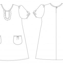 little katie dress pattern version 1