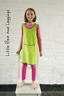Sale Sew Me Something Little Bea Pinafore And Leggings