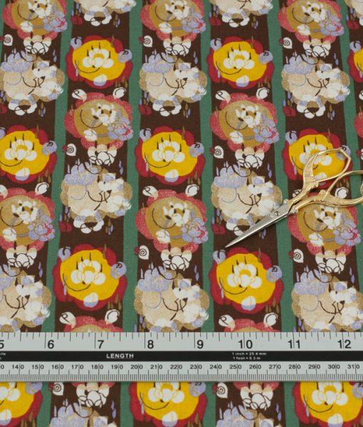V&A London Fabric for Rowan
