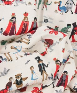 Alice in Wonderland Fabric Cotton and Steel