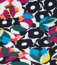 bold floral jersey fabric