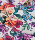 fabulous viscose floral dressmaking fabric