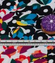 Modern Floral Jersey Dressmaking Fabric