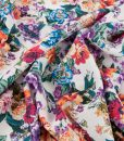 Viscose Floral Dressmaking Fabric