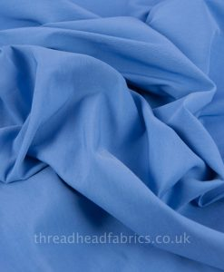 swirled cotton poly spandex chambray