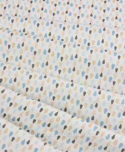 Lillie Bear Sew Simple Fabrics Raindrops
