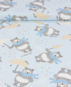 Sew Simple Fabrics Lillie Bear Collection