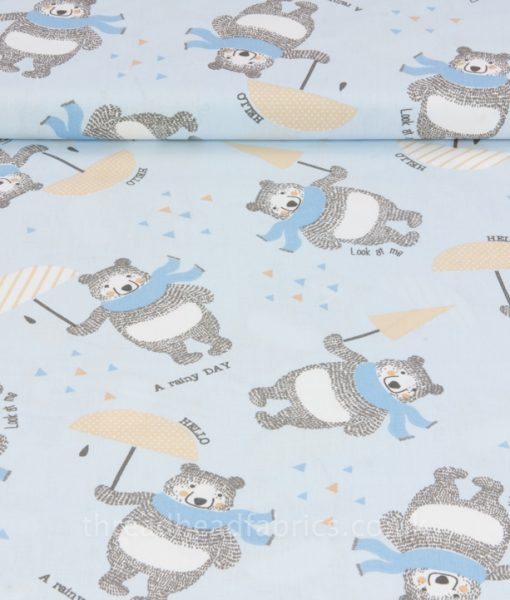 Rainy Day Bears Sew Simple Fabrics