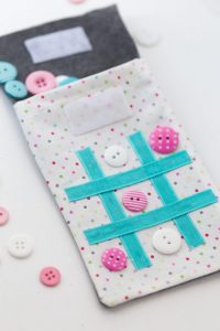 tick tack toe sewing tutorial