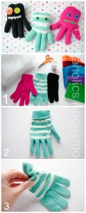glove monster tutorial