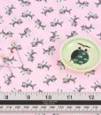 Petite Treat in Pink Kitten Fabric Riley Blake