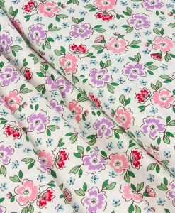 Ellis and Higgs Meadow in Cream Fabric
