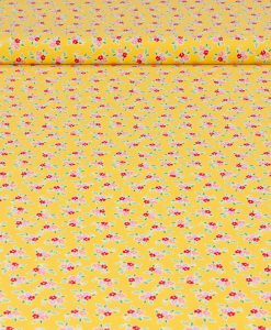 Riley Blake Designs Yellow Floral Fabric