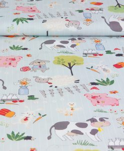 Gill Eggleston Off to the Farm Fabric