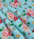Mon Beau Jardin Main Penny Rose Fabrics