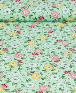 Mon Beau Jardin Meadow Penny Rose Fabrics
