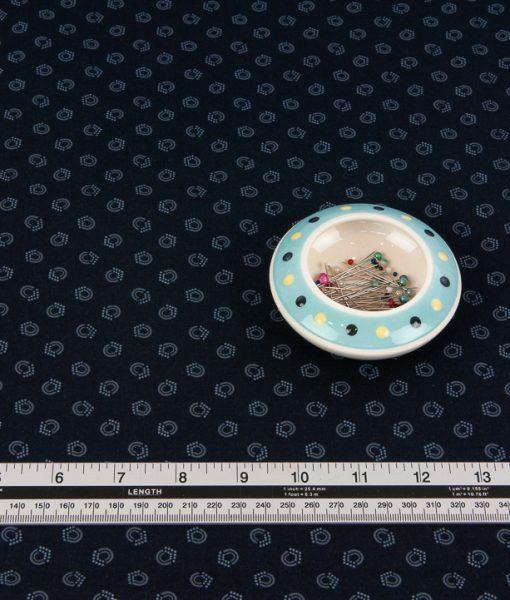 Bear Essentials 4 Black Blender Fabric