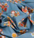 Guinevere Floral in Blue Riley Blake Designs