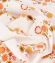 Guinevere Floral Fabric in Cream